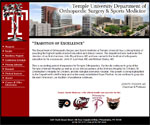 Temple University Department of Orthopaedic Surgery and Sports Medicine